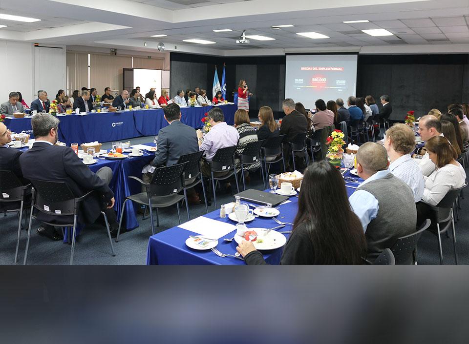 propuesta de generación de empleo formal en Guatemala