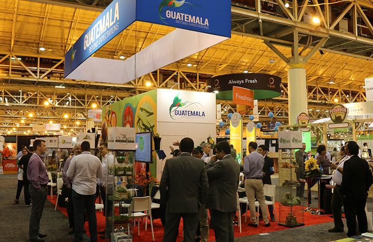 Guatemala cumplió 30 años de participación consecutiva en la mayor feria agrícola de Estados Unidos, PMA Fresh Summit.