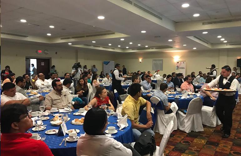 Lanzamiento de Centroamérica Exporta en Managua, Nicaragua.