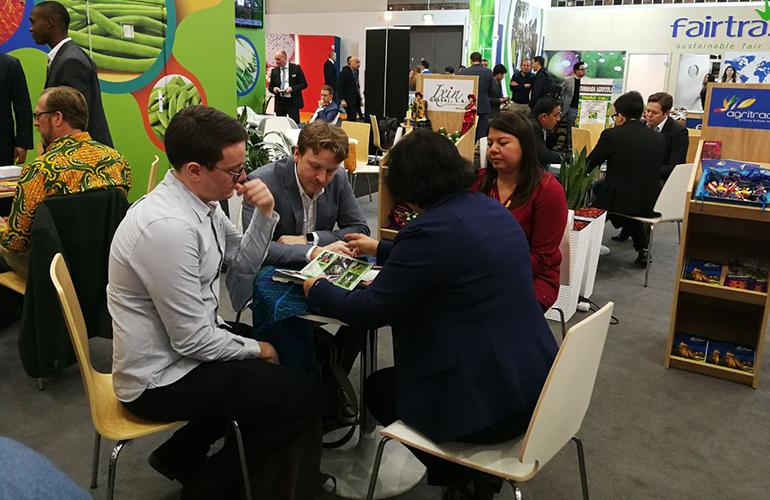 En el primer día de Fruit Logística 2018, se realizaron más de 500 citas de negocios, la cual es una cifra record en la historia de Guatemala en este evento internacional.