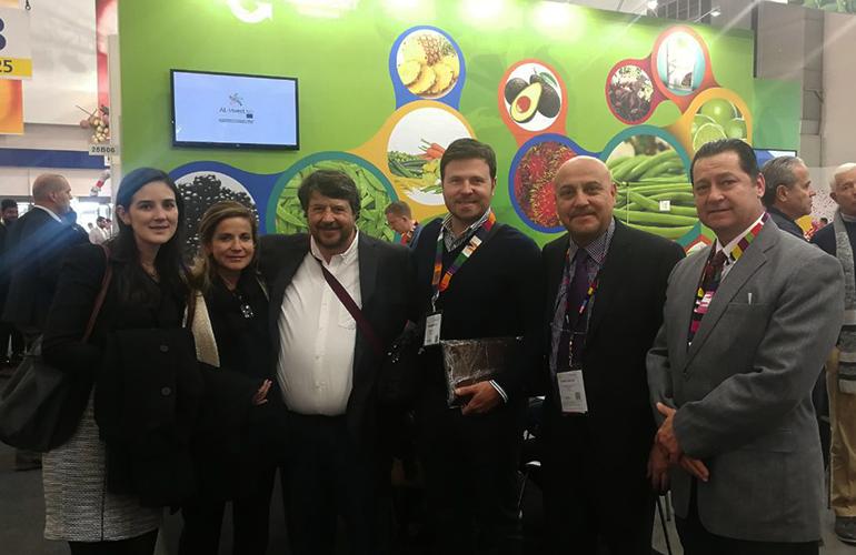 Delegación de empresarios guatemaltecos exportadores en Fruit Logística 2018