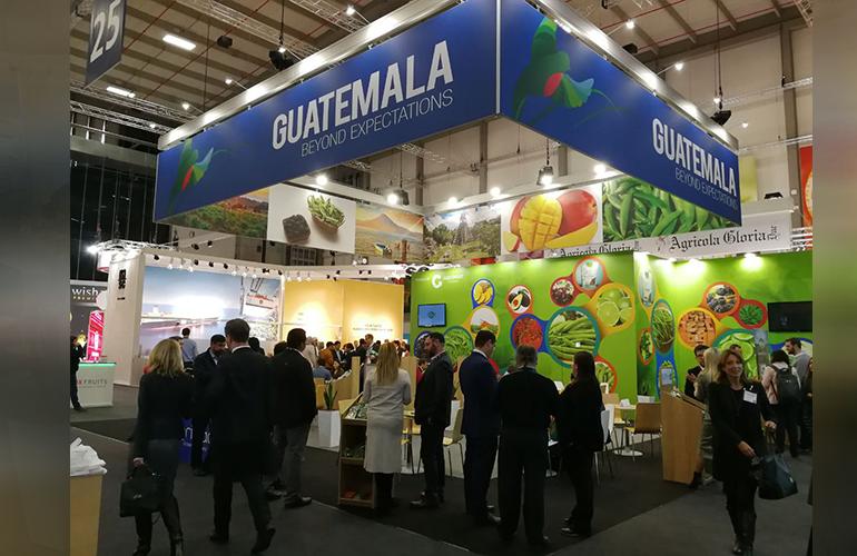 """AGEXPORT está aprovechando este evento de relevancia para el agro guatemalteco, para participar con la imagen y marca institucional """"Guatemala Beyond Expectations"""""""