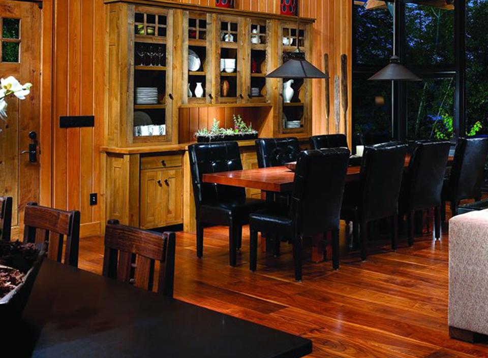 muebles de madera certificada,