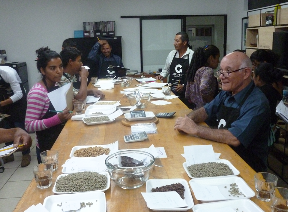 Two coffee growers' organizations