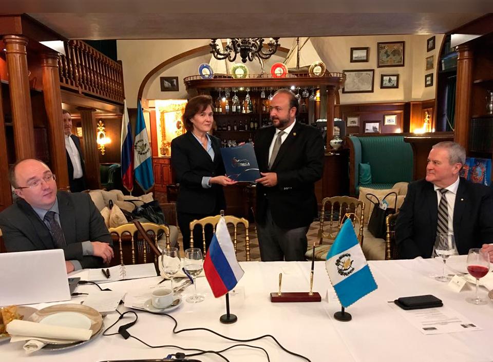 AGEXPORT firma convenio con Rusia