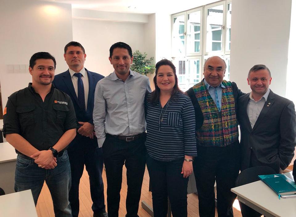 delegación de empresarios guatematelcos,
