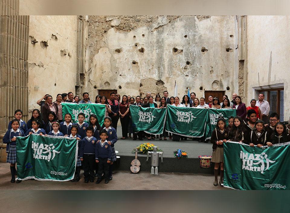 """certificación ambiental para centros educativos """"Galardón Bandera Verde"""""""