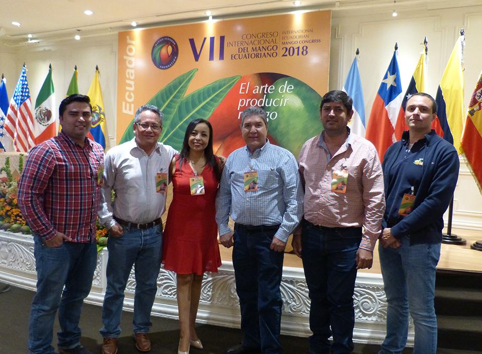 Comité de mango de Guatemala en Congreso de Ecuador