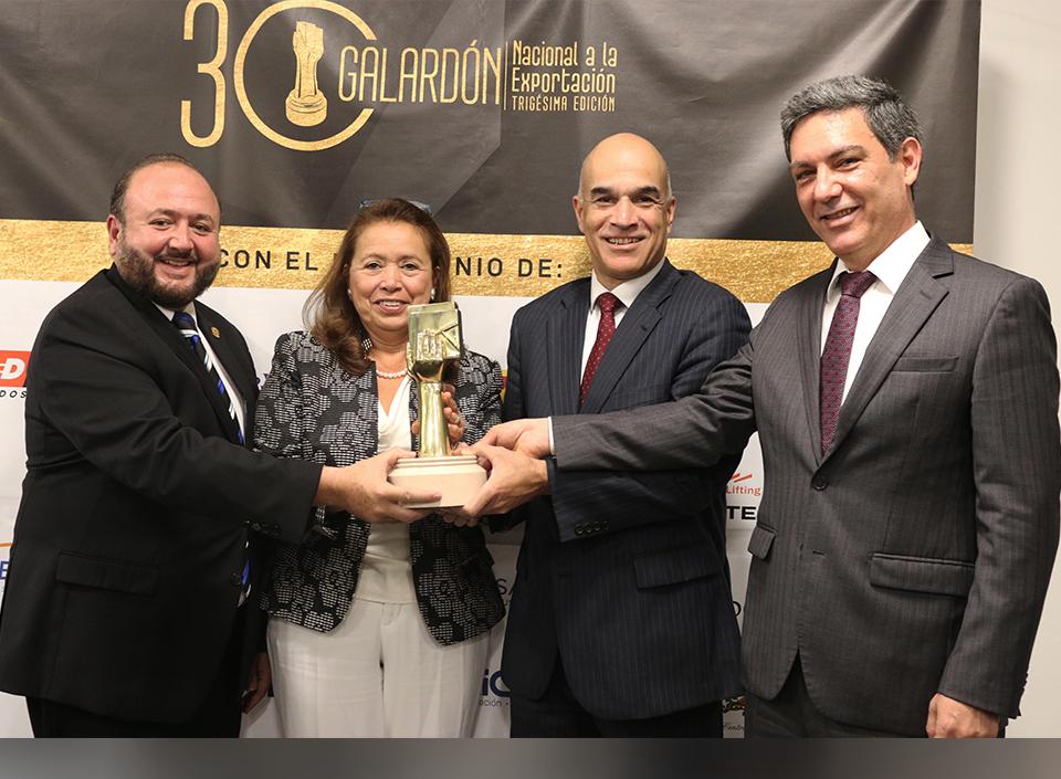 empresas guatemaltecas aspiran al Galardón Nacional de la Exportación