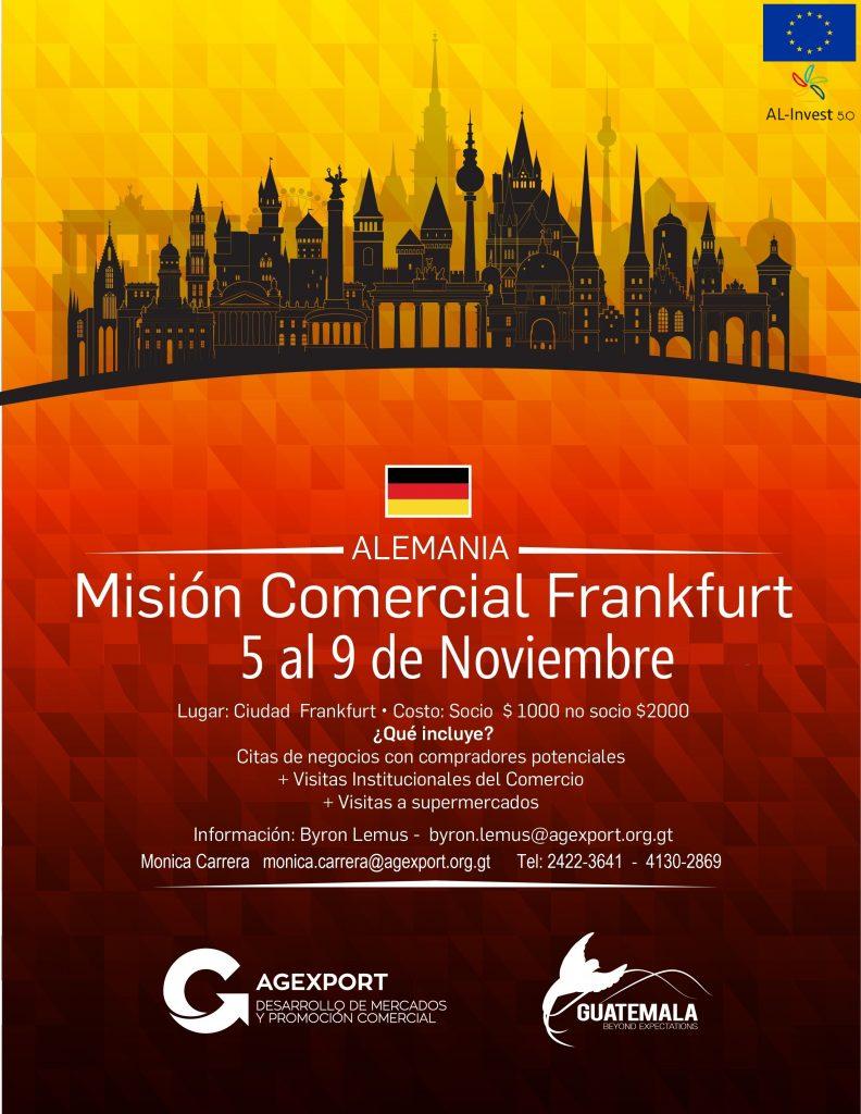 misión comercial a Alemania