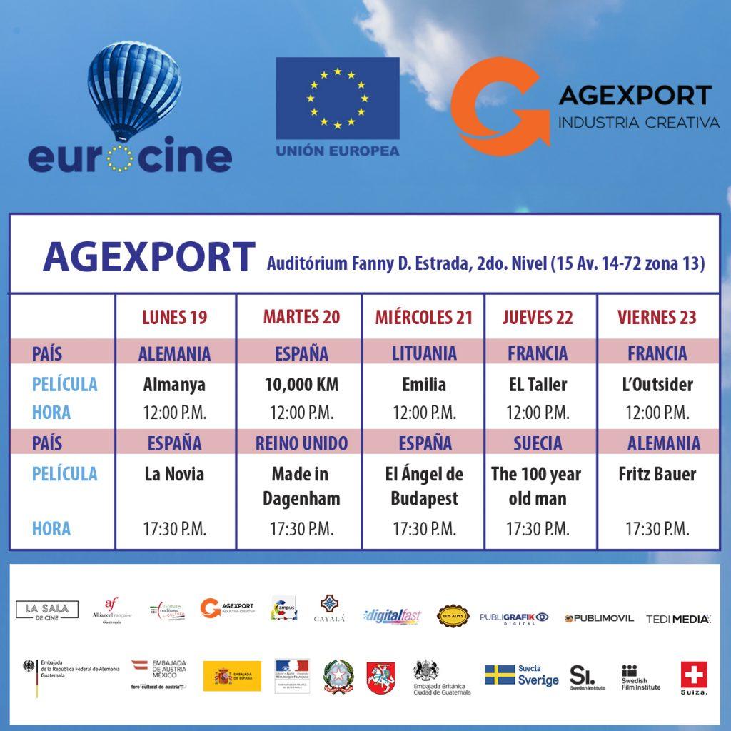AGEXPORT será sede de Eurocine