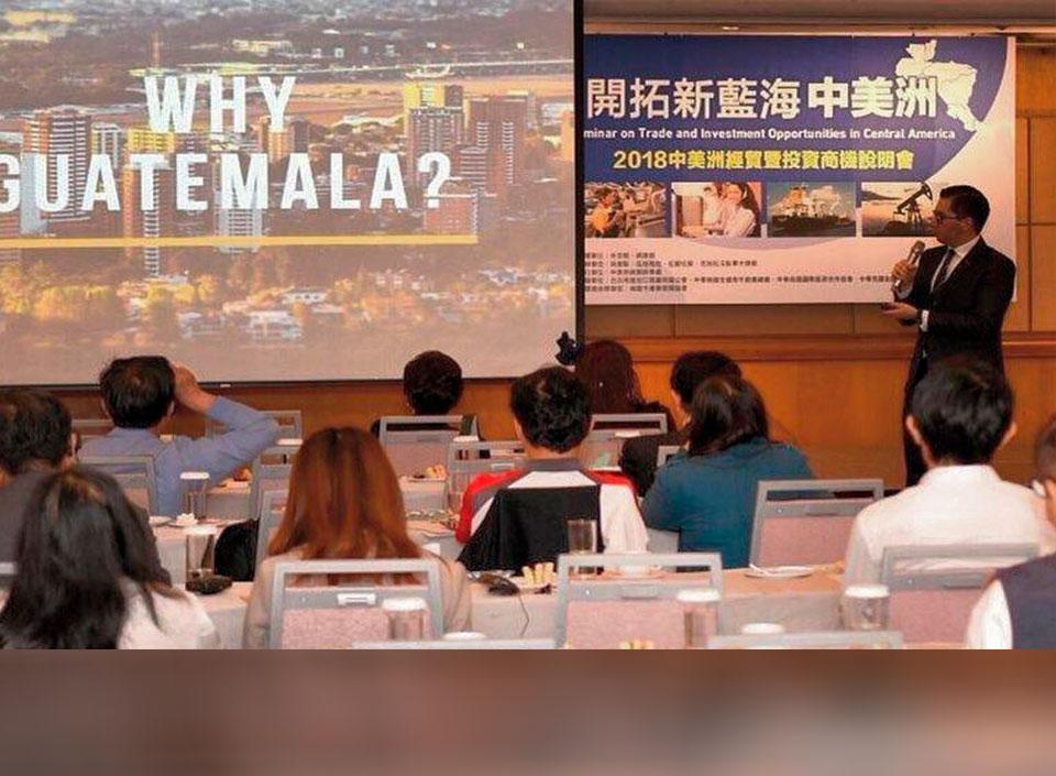Taiwán interesado en invertir en Guatemala