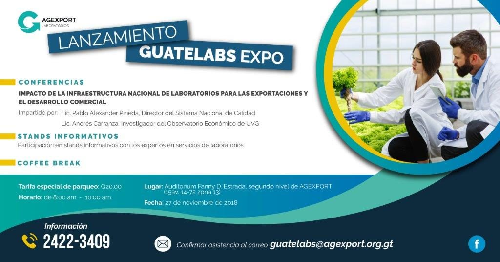 laboratorios de exportación