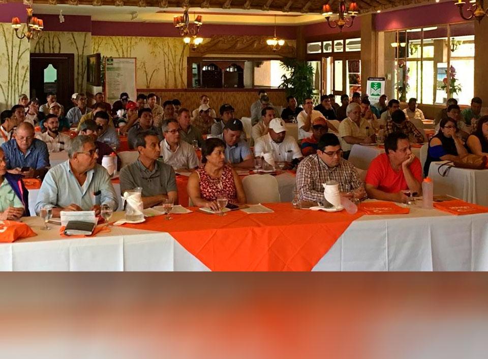 capacitación a productores de mango de Guatemala