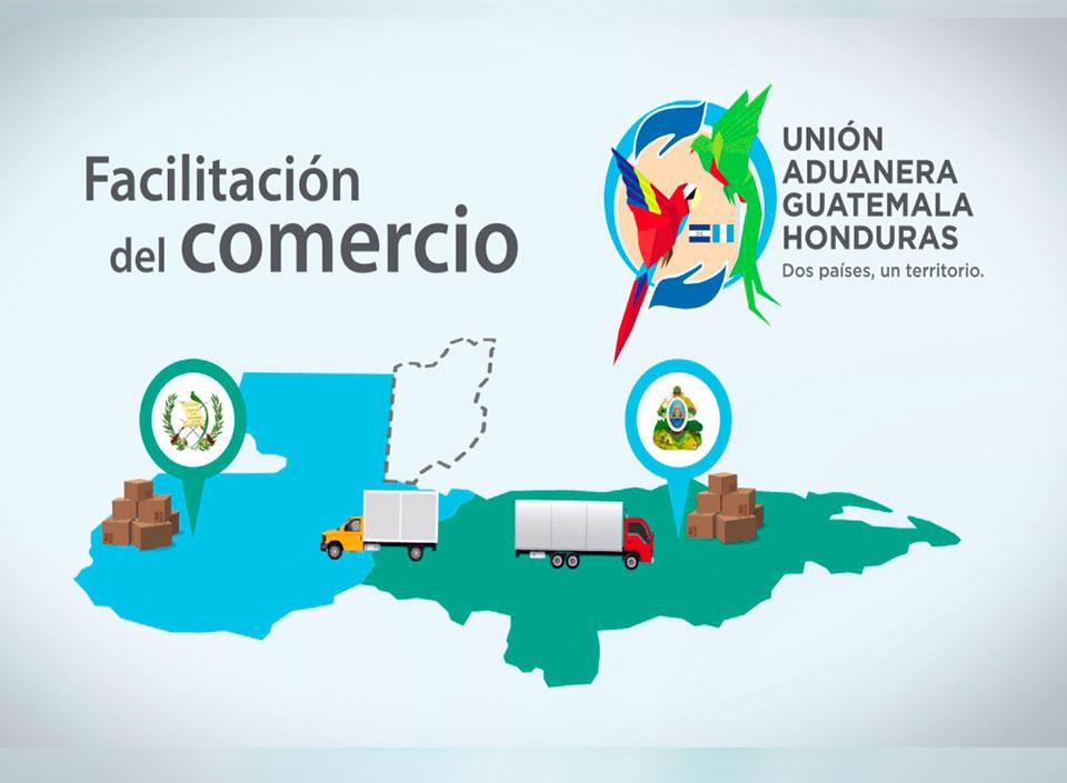 Unión aduanera entre Guatemala y Honduras