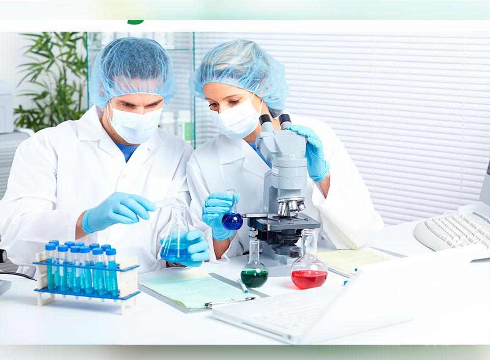 laboratorios realizan análisis para alimentos de exportación