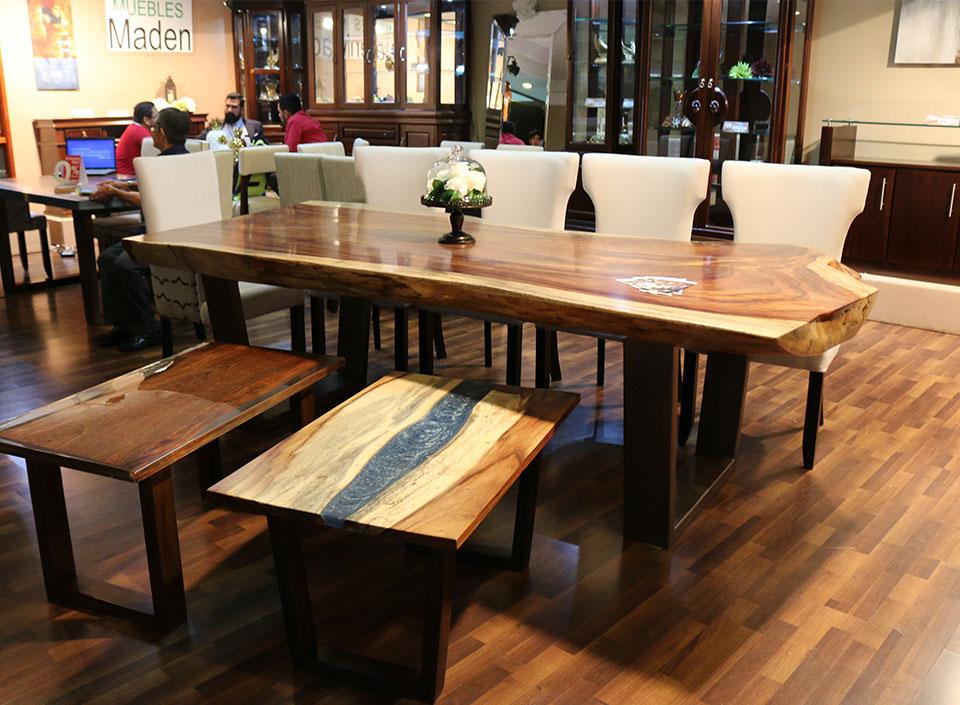 muebles de madera de autor