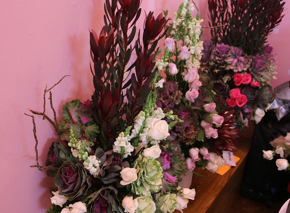 flores en Agritrade