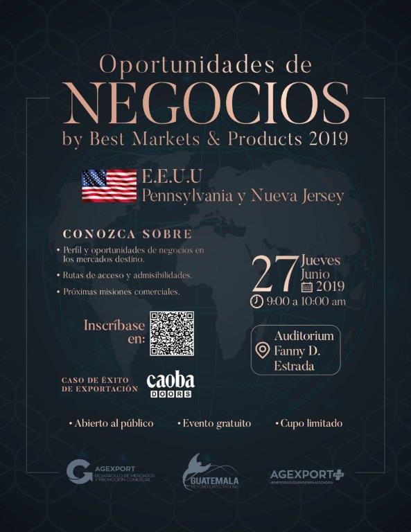 negocios para Guatemala en Estados Unidos