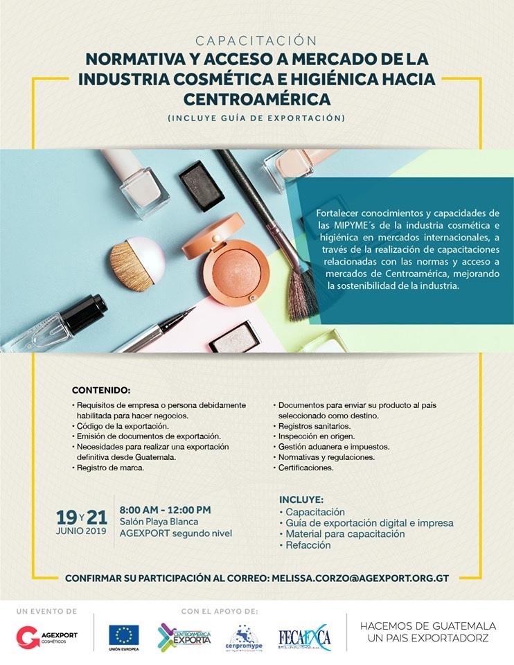 industria cosmética en Guatemala