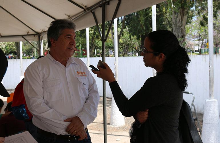 Actualmente el Ing. Eddy Martínez ocupa el cargo de Director Titular en el Comité de Mango de AGEXPORT