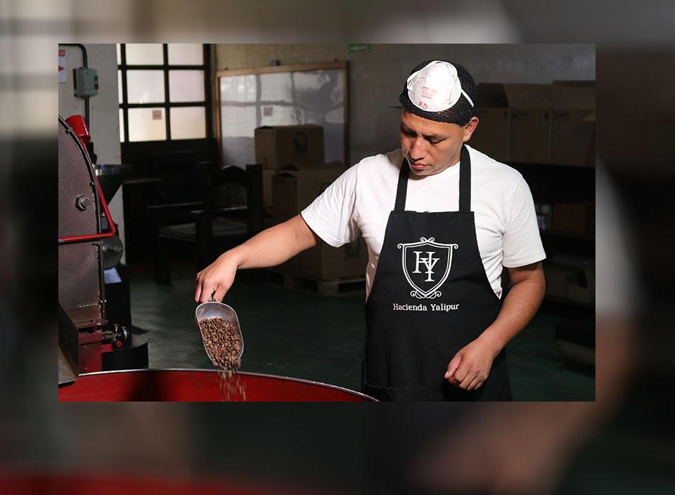café tostado guatemalteco