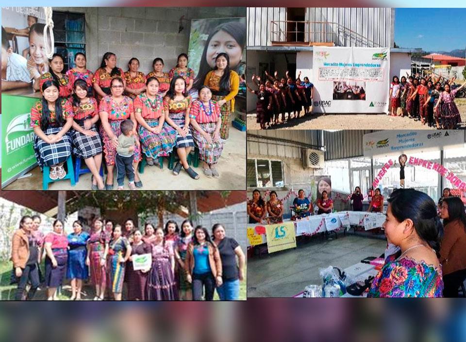 mujeres emprendedoras en Guatemala