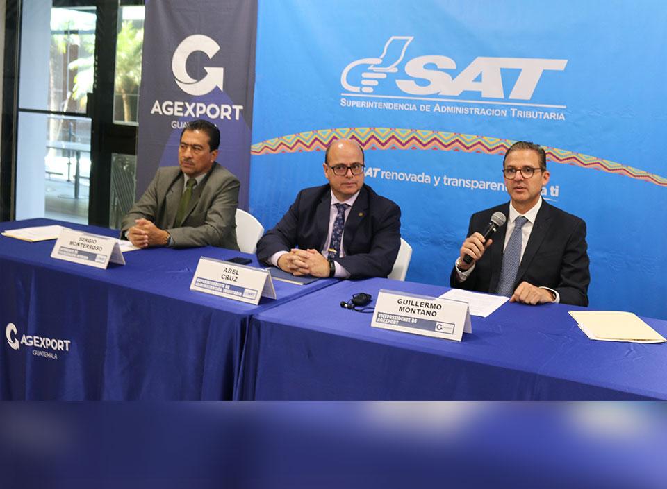 SAT lanza plataforma electrónica para facilitar el proceso de Devolución del Crédito Fiscal a los exportadores