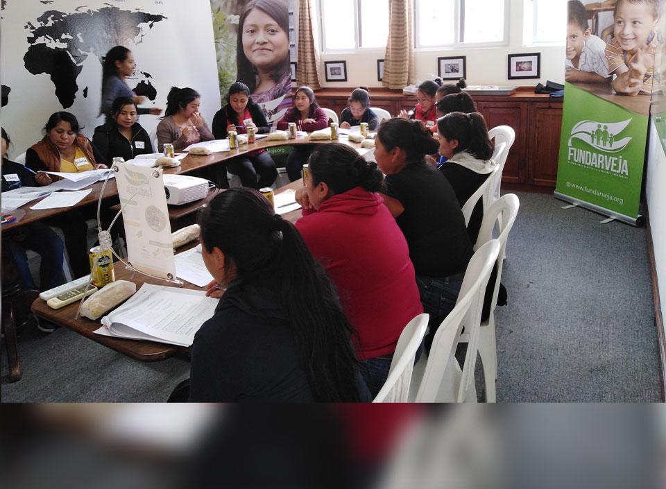 fundación de la arveja en Guatemala