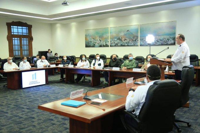 disposiciones presidenciales en Guatemala