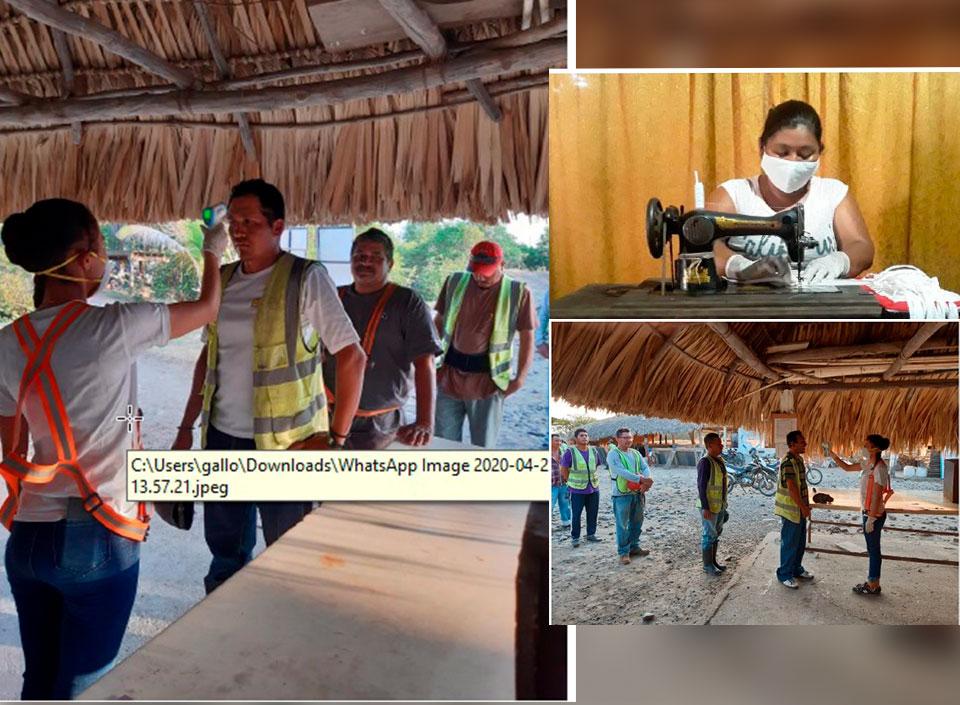 entregan mascarillas a comunidades del Océano Pacífico