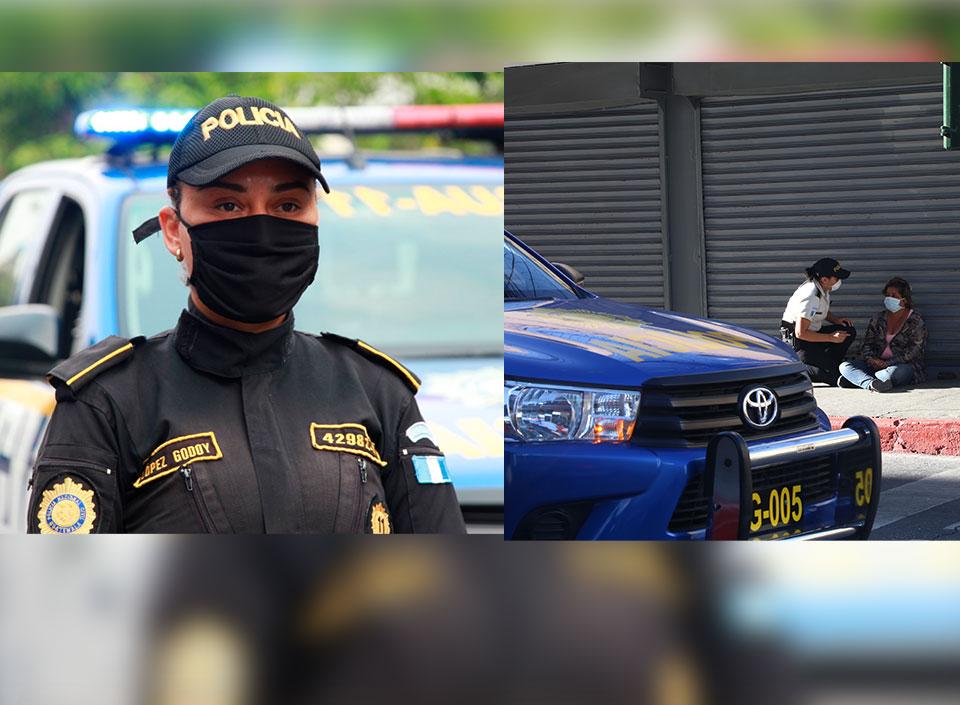donaciones para la Policía Nacional Civil