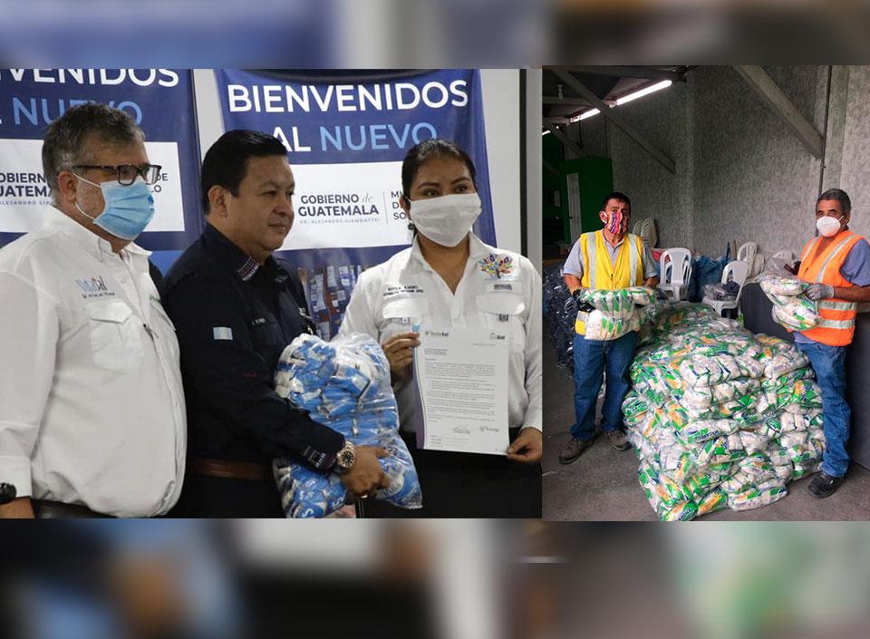 donan alimentos para hospitales por COVI-19