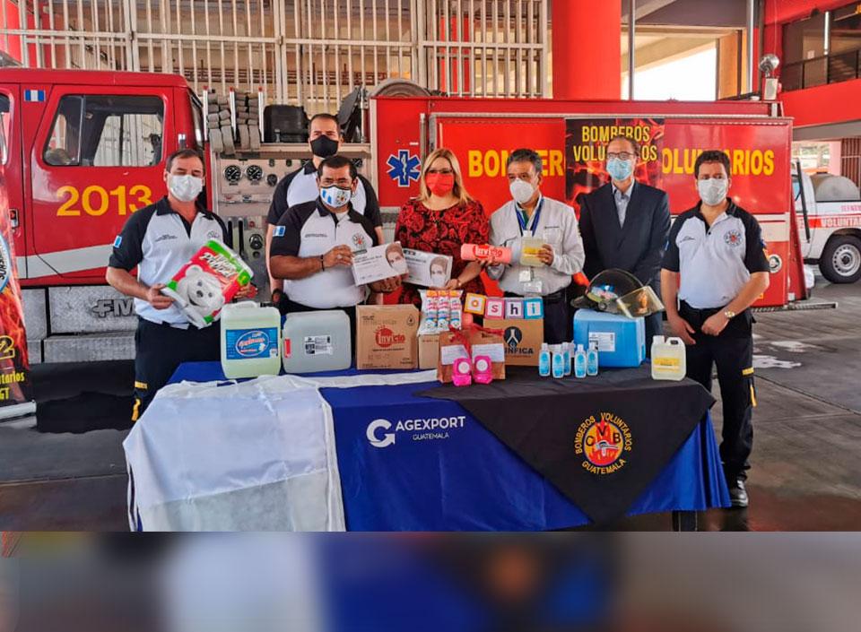 Entregan donaciones a Bomberos Voluntarios