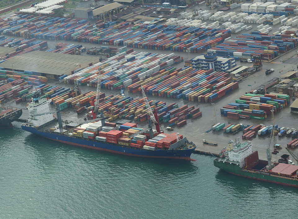 sistema portuario nacional