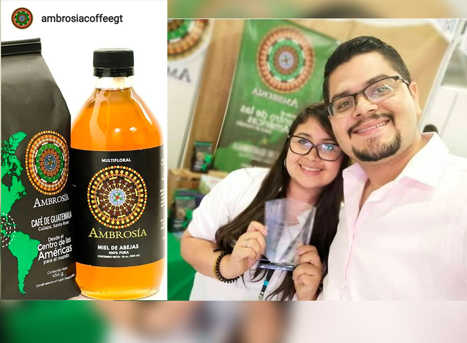 empresa Ambrosía de cafés guatemaltecos