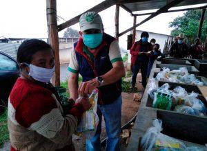 comunidades de Patzún, reciben ayuda