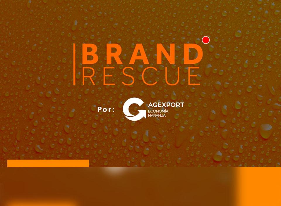 BrandRescue campaña de economía naranja
