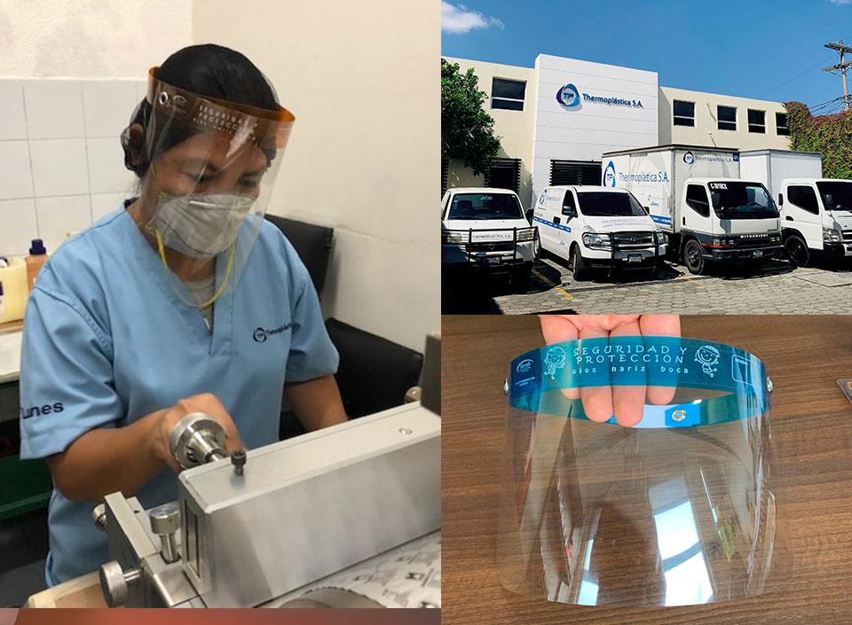 Thermoplástica: desde empaques y envases a insumos de protección para evitar contagios por COVID-19