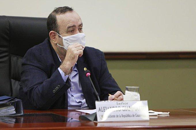 Disposiciones presidenciales Alejandro Giammattei
