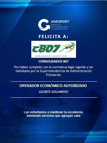 Actores de la cadena logística obtienen la certificación OEA