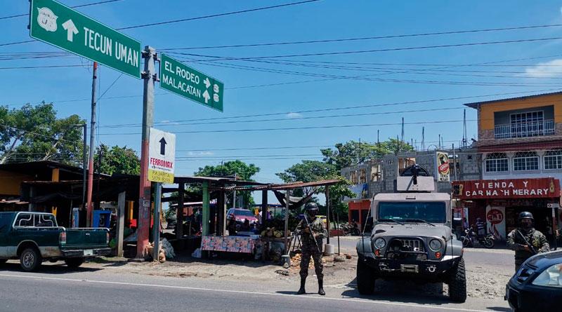 contrabando en Guatemala