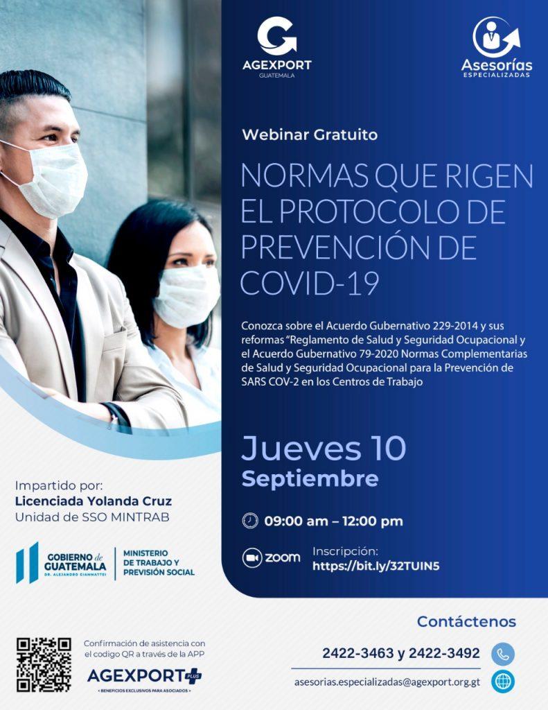 protocolos de seguridad en Guatemala