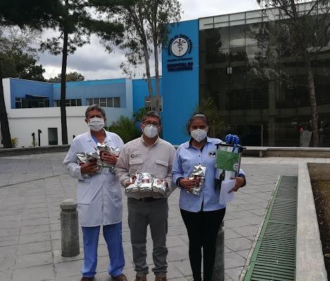 Donación de Tazas de Café especial a personal médico continúo hasta octubre