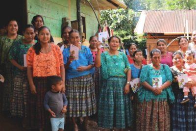 Asociación recibe reconocimiento por parte de Unión Europea por trabajo con mujeres microempresarias