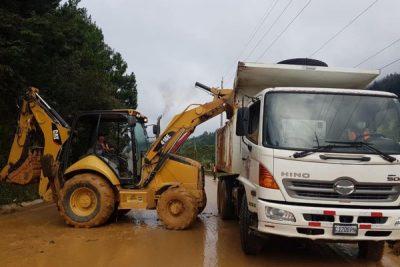 agexport hoy actualización carreteras