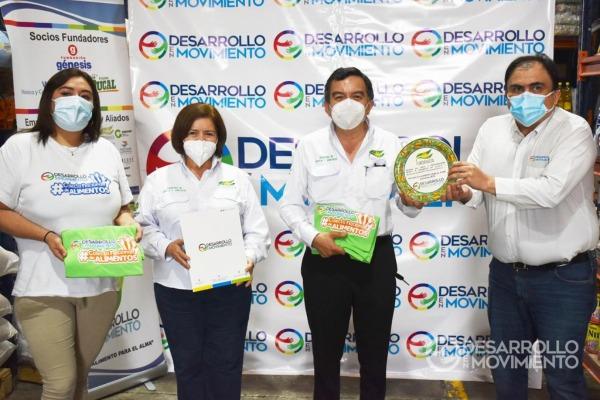 FUNDARVEJA recibe reconocimiento por su apoyo constante al proyecto Rescate Agrícola de Desarrollo en Movimiento