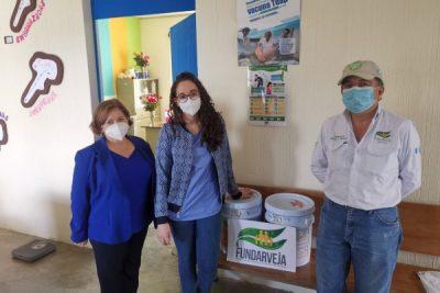 FUNDARVEJA apoya a puestos de salud en comunidades productoras de vegetales en Patzún, Chimaltenango