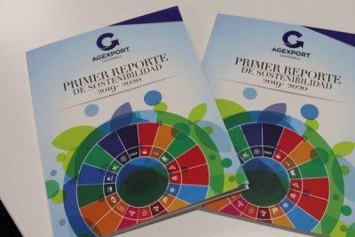 Primer reporte de Sostenibilidad de AGEXPORT