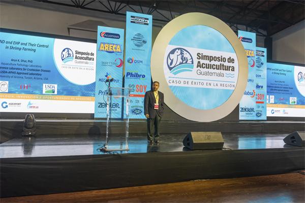 El Simposio de Acuicultura en Guatemala, un evento exitoso del Sector de Acuicultura y Pesca